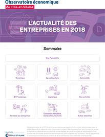 Actualités des entreprises bretilliennes en 2018