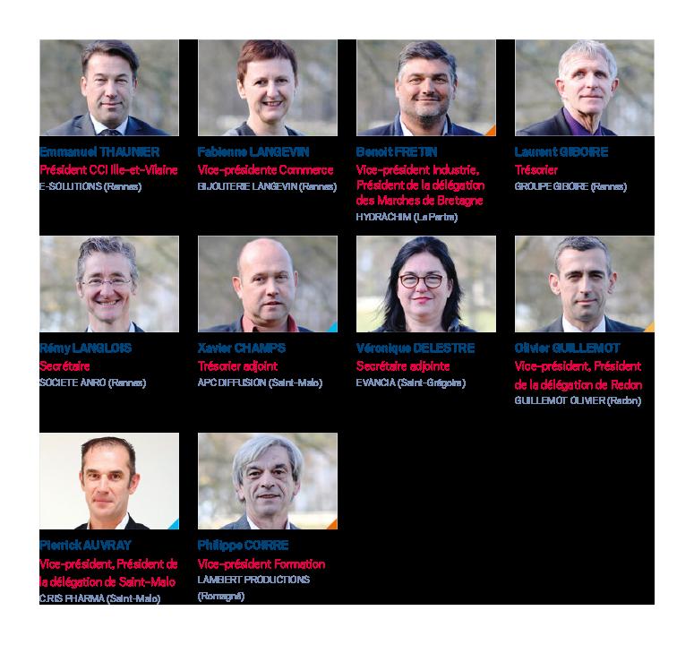 Les lus chefs d 39 entreprises cci ille et vilaine for Chambre de commerce rennes