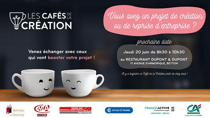 Cafés de la création en Ille-et-Vilaine