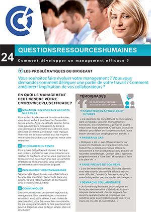 Comment développer un management efficace ?