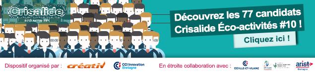 Venez découvrir les lauréats de Crisalide éco-activités 2018
