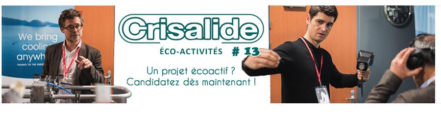 Candidatez au concours Crisalide éco-activités