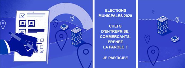 Elections municipales 2020, chefs d'entreprise, commerçants, prenez la parole !