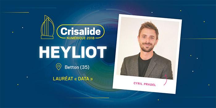 Lauréat Crisalide numérique 2018 : Heyliot