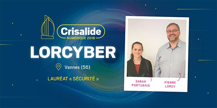 Lauréat Crisalide numérique 2018 : Lorcyber