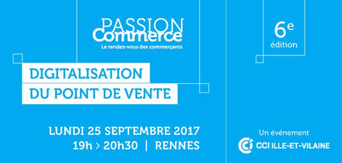 Passion commerce : digitalisation de votre point de vente