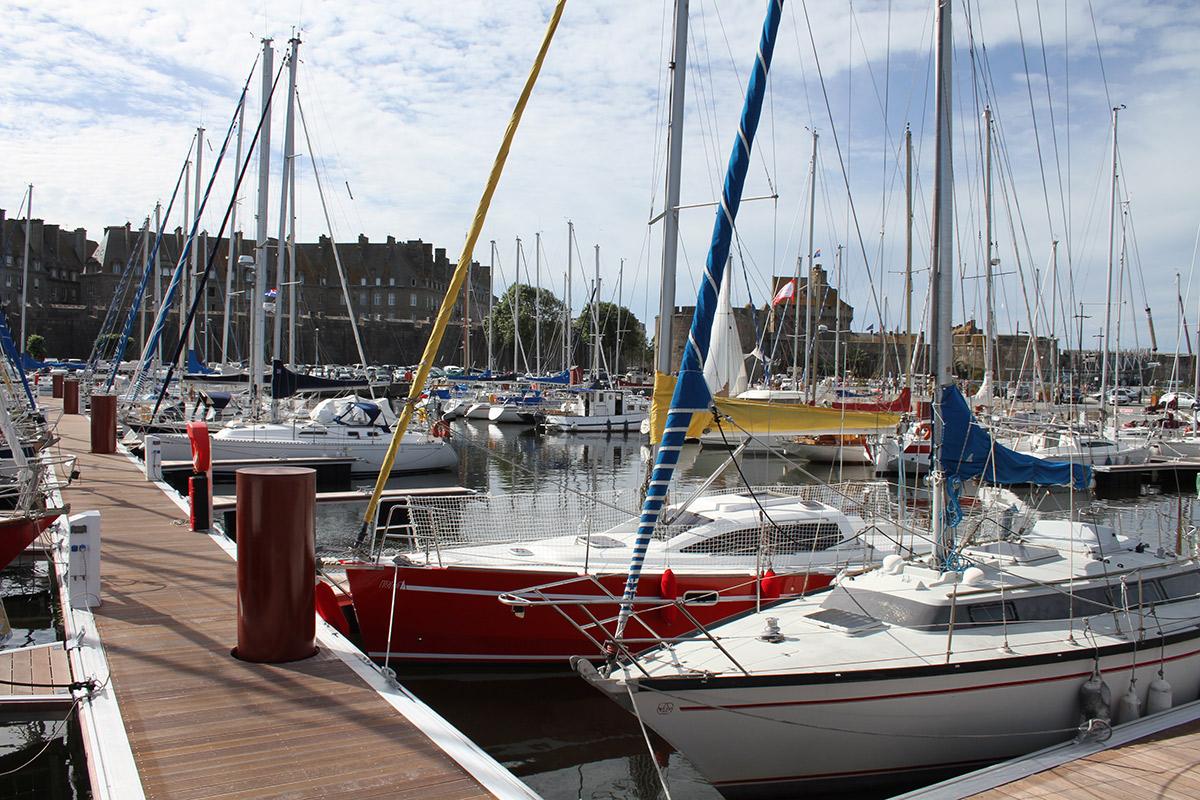 Le port de Vauban de Saint-Malo : ses services