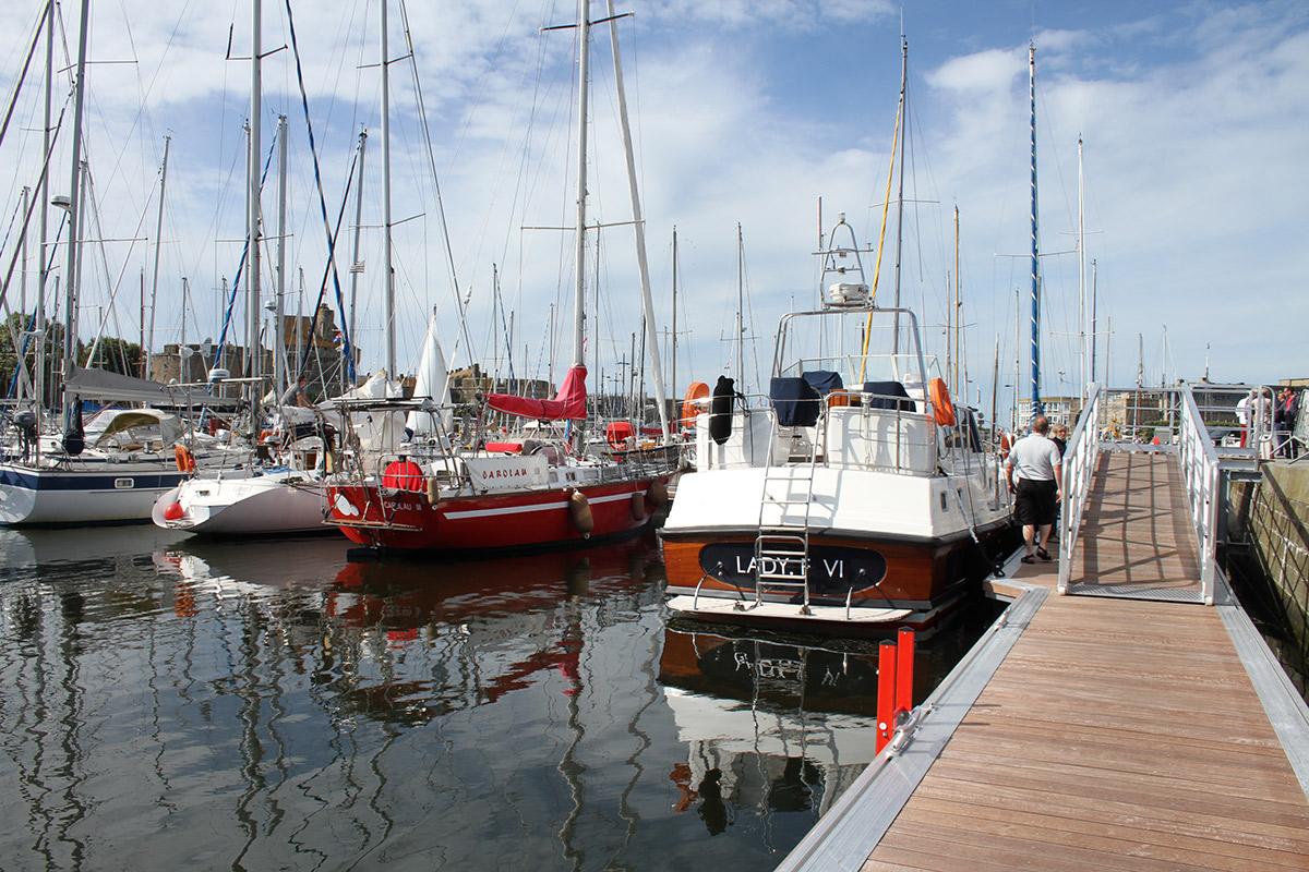 Port de plaisance Vauban à Saint-Malo