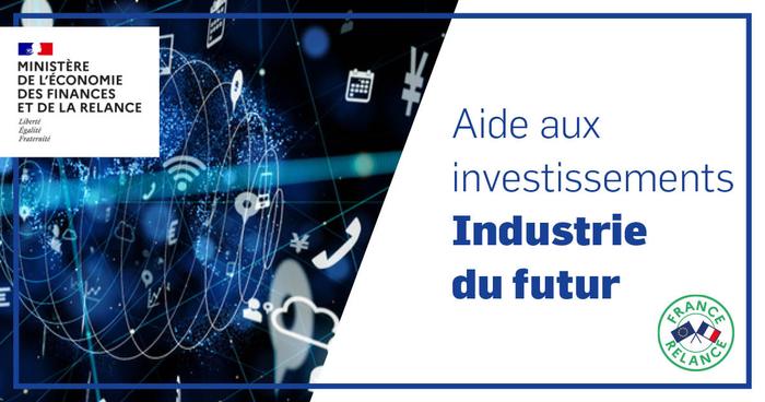 Bénéficiez de l'aide en faveur de l'investissement vers l'industrie du Futur