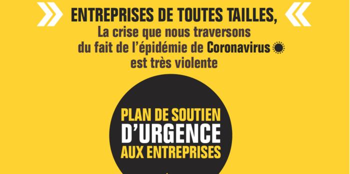 COVID-19 : Plan de soutien DE BPIFRANCE aux entreprises