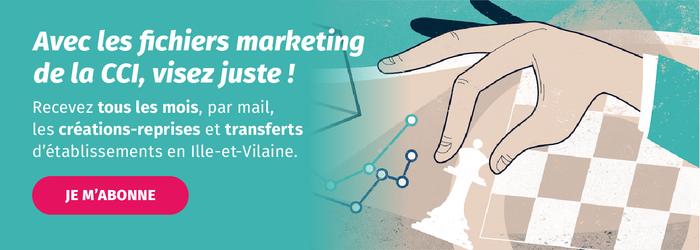 Cibler les nouvelles entreprises créées, reprises ou transférés en Ille-et-Vilaine