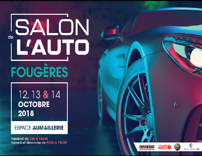 Salon de l'automobile à Fougères