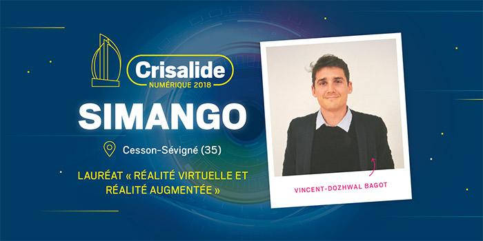 Lauréat Crisalide numérique 2018 : Simango
