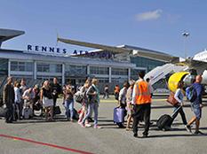 Un trafic record en 2016 pour l'aéroport de Rennes