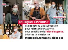 AIDE D'URGENCE Commerçants Artisans