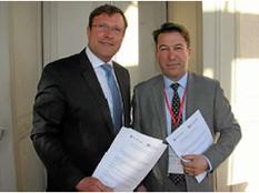 Convention entre la Chambre de commerce britannique et la CCI Ille-et-Vilaine
