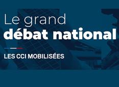 Le grand débat national : les CCI mobilisés