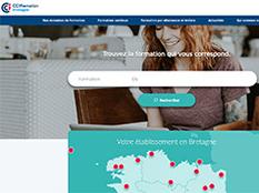 Découvrez le nouveau site Formation des CCI de Bretagne