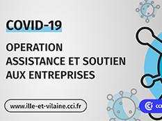 Covid-19 : La CCI Ille-et-Vilaine lance une grande opération d'assistance et de soutien aux commerçants et TPE en forte baisse d'activité