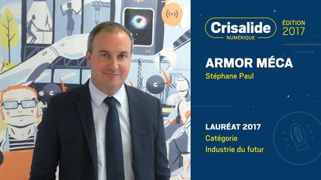 Armor Meca, Lauréat Crisalide numérique 2017