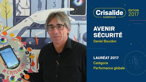 Avenir Sécurité, lauréat Crisalide numérique 2017