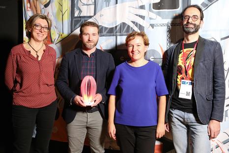 Lamark, lauréat Crisalide numérique