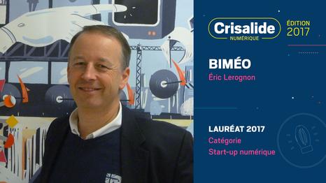 Biméo, lauréat Crisalide numérique 2017