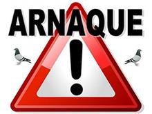 Message d'alerte : arnaque