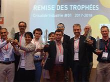 Lauréats Crisalide Industrie 2018