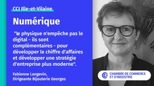 Fabienne Langevin, dirigeante Bijouterie Georges