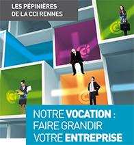 Héberger votre entreprise dans une pépinière d'entreprise de la CCI Ille-et-Vilaine