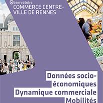 Observatoire commerce centre-ville Rennes
