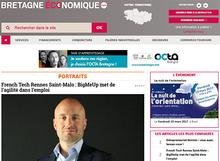 Le site Bretagne économique fait peau neuve